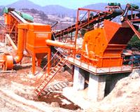 配用碎石系统组合式除尘机组
